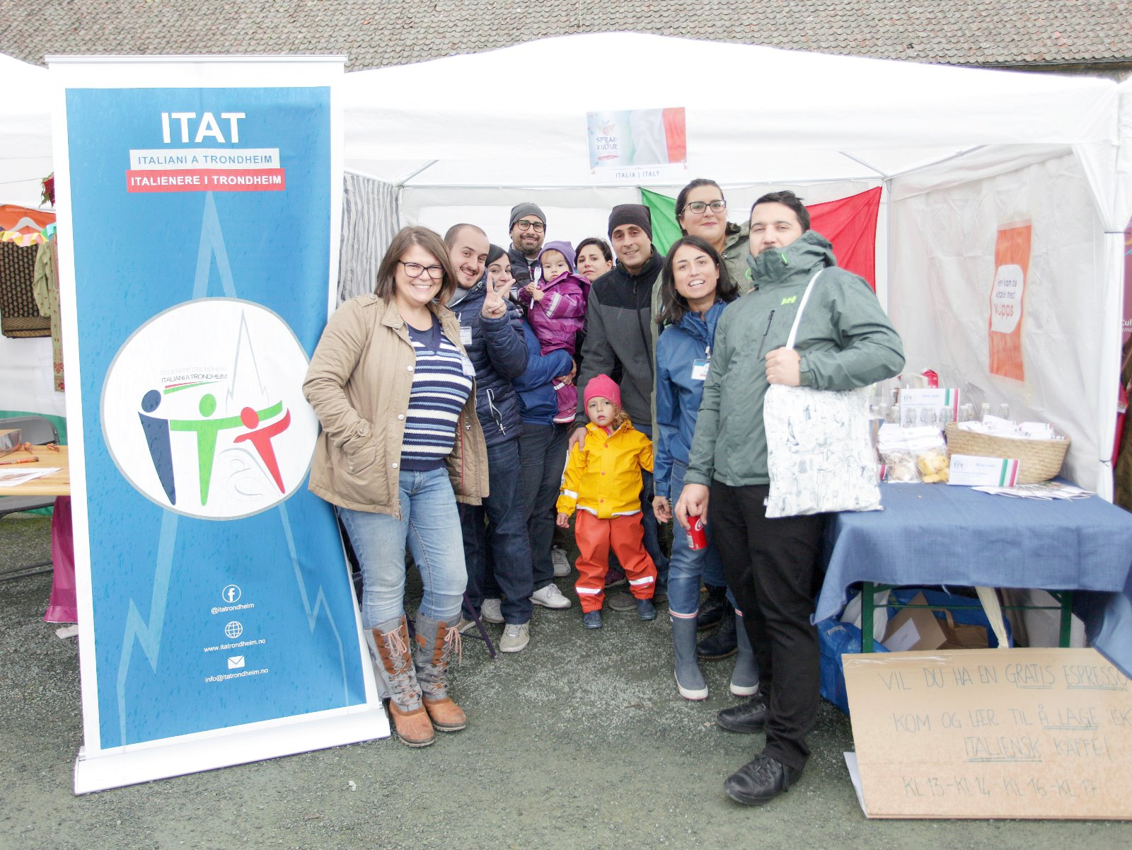 Språk- og kulturfestivalen a Trondheim: anche ItaT c'era!