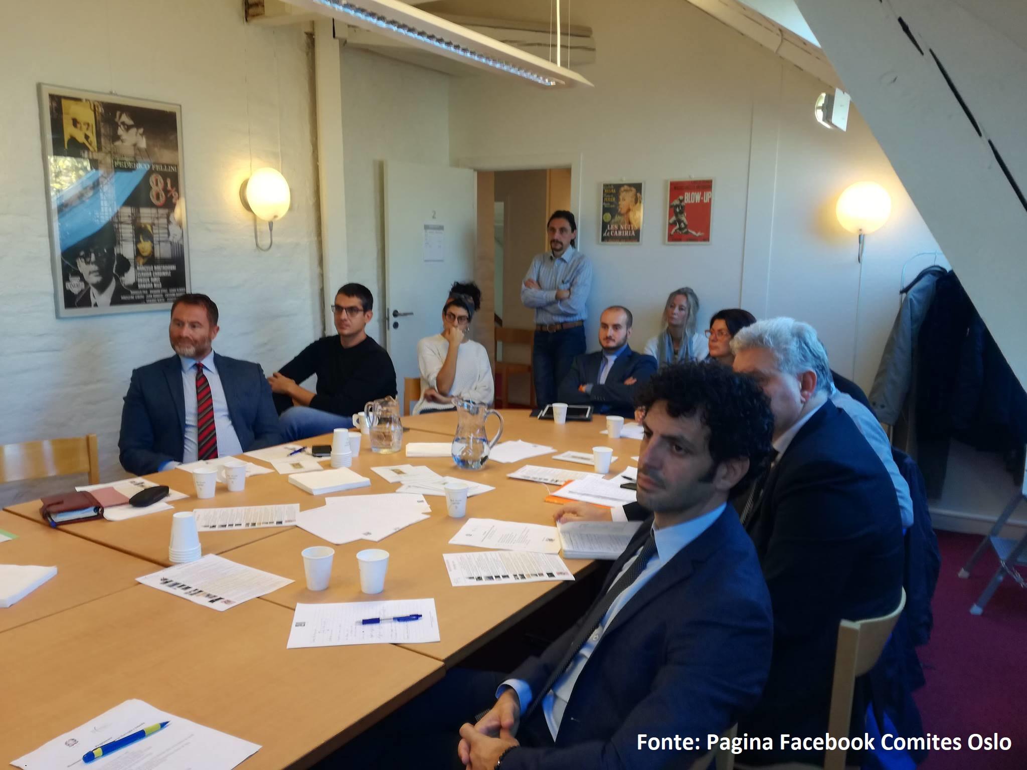Incontro Sistema Italia con l'Ambasciata d'Italia a Oslo