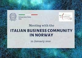 Incontro dell'Ambasciata con la comunità business in Norvegia