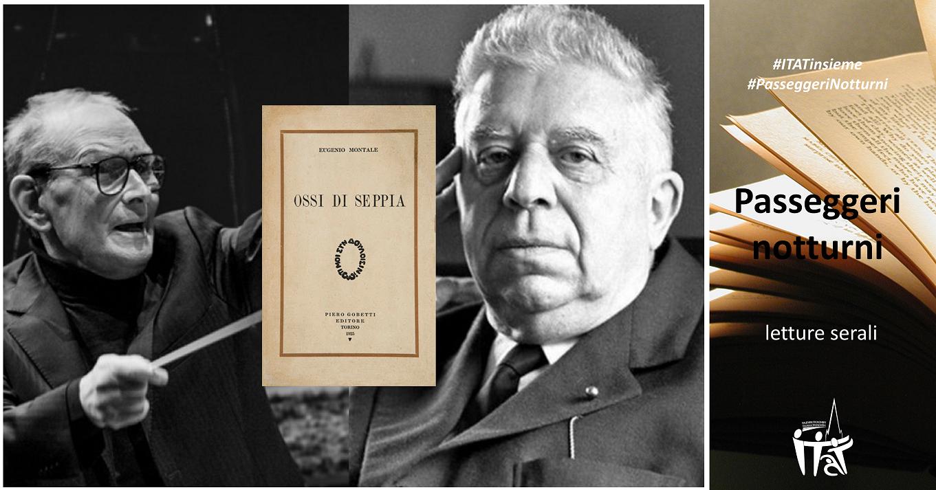 """""""Ossi di Seppia"""" di Eugenio Montale – musiche di Ennio Morricone"""